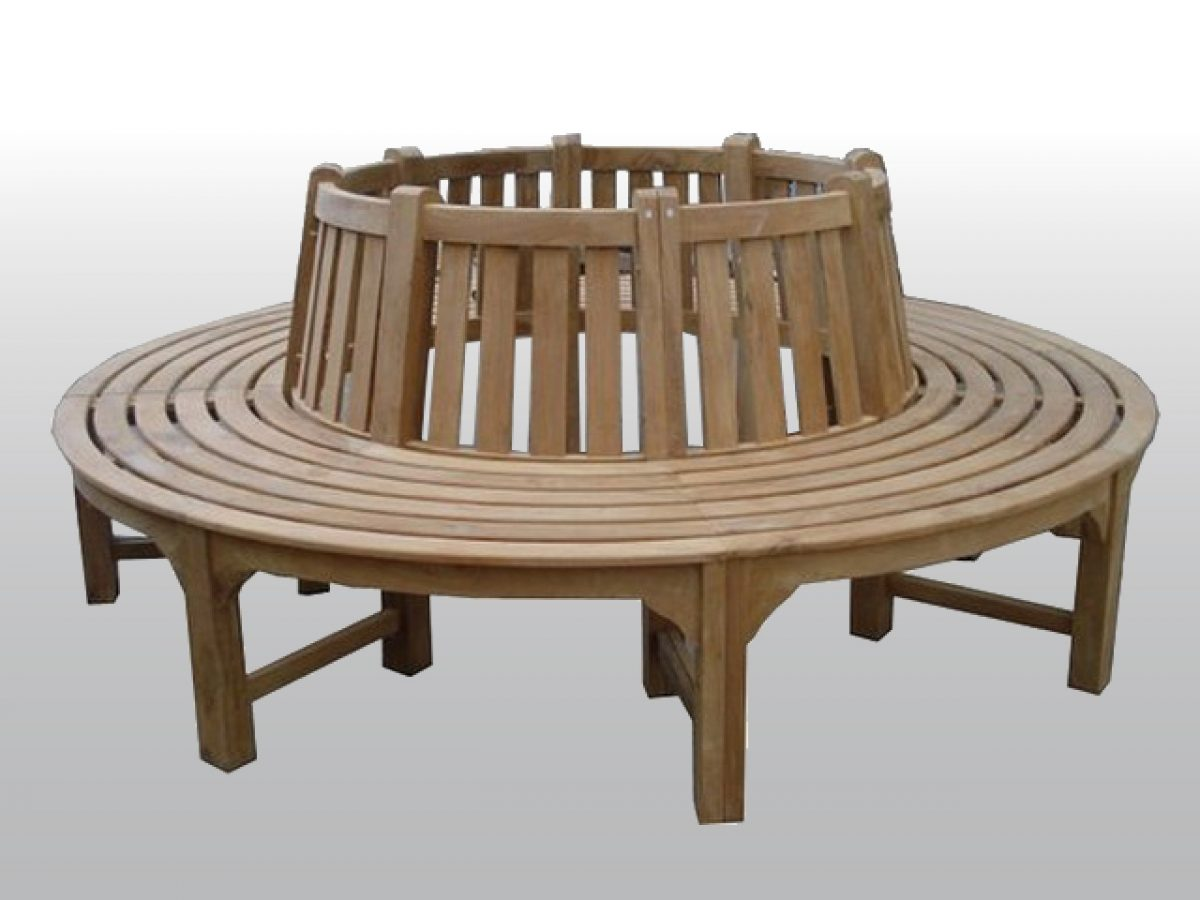 Tree Bench Round